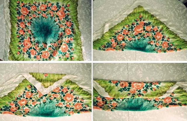 image10-6   Как красиво и оригинально повязать шарф или палантин на голову