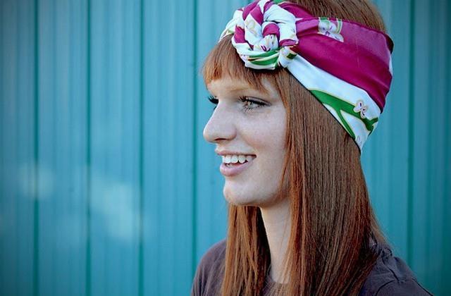 image16-6   Как красиво и оригинально повязать шарф или палантин на голову