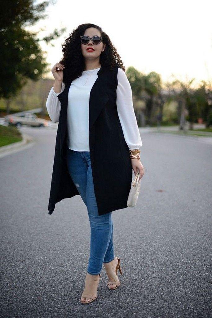 image2-12   Как девушкам размера plus-size выглядеть стильно в джинсах — 6 советов