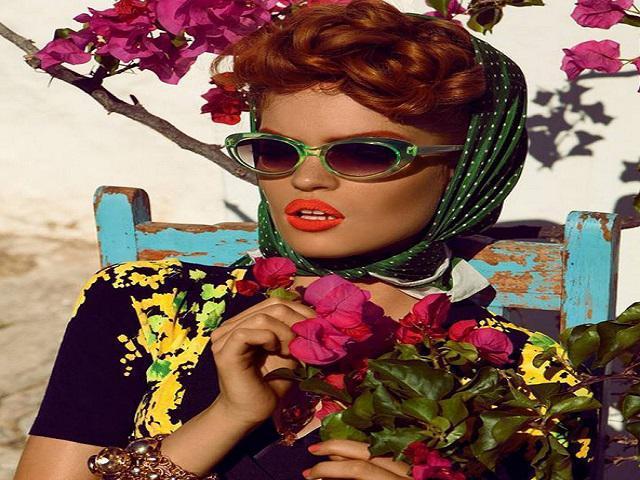 image23-4   Как красиво и оригинально повязать шарф или палантин на голову