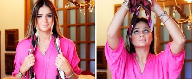 image6-8   Как красиво и оригинально повязать шарф или палантин на голову