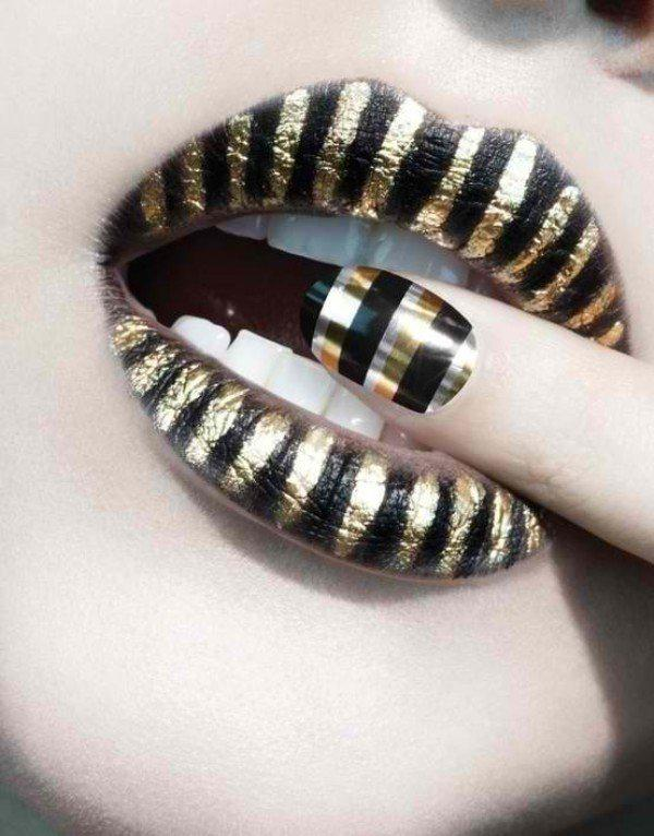 metallic-nails-5 | Тренды маникюра: ногти-металлик