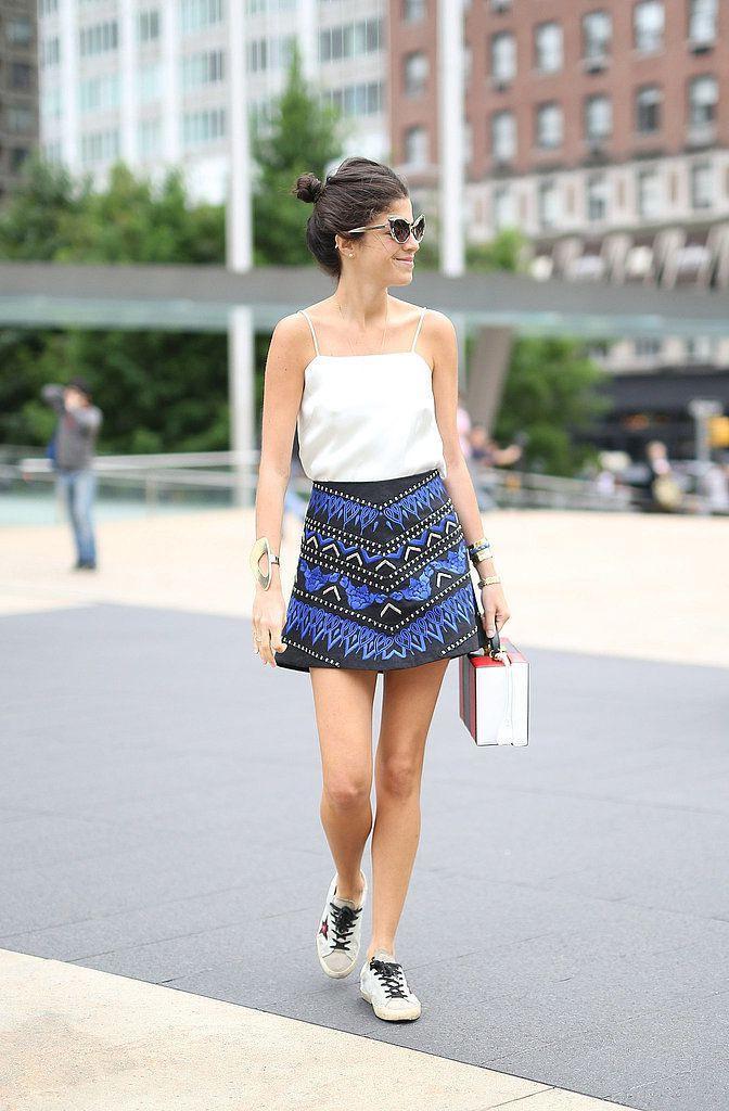 mini-skirt-women-summer-outfit-2 | 10 прекрасных идей нарядов весны и лета 2018
