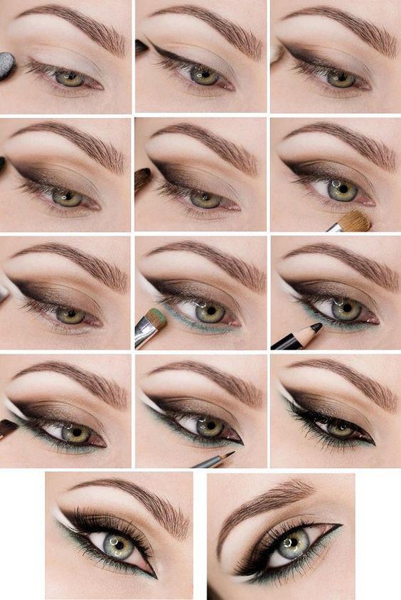 image13-26 | Лучшие идеи макияжа со схемами — 15 фото!