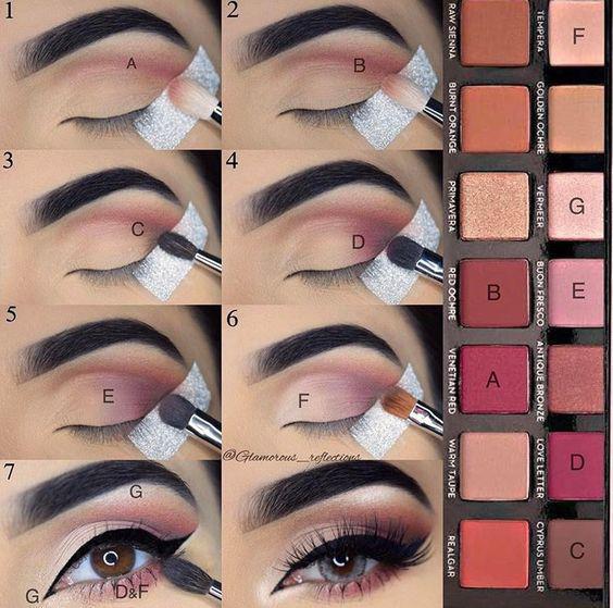 image9-28 | Лучшие идеи макияжа со схемами — 15 фото!