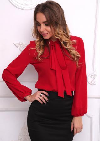image6-4 | Как стильно носить красные блузки и рубашки летом и осенью 2018: 20 стильных идей