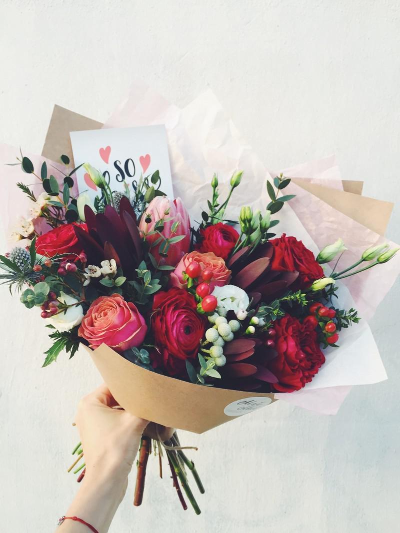 kraft-flowers-1 | Крафтовые букеты — современно, стильно, экологично