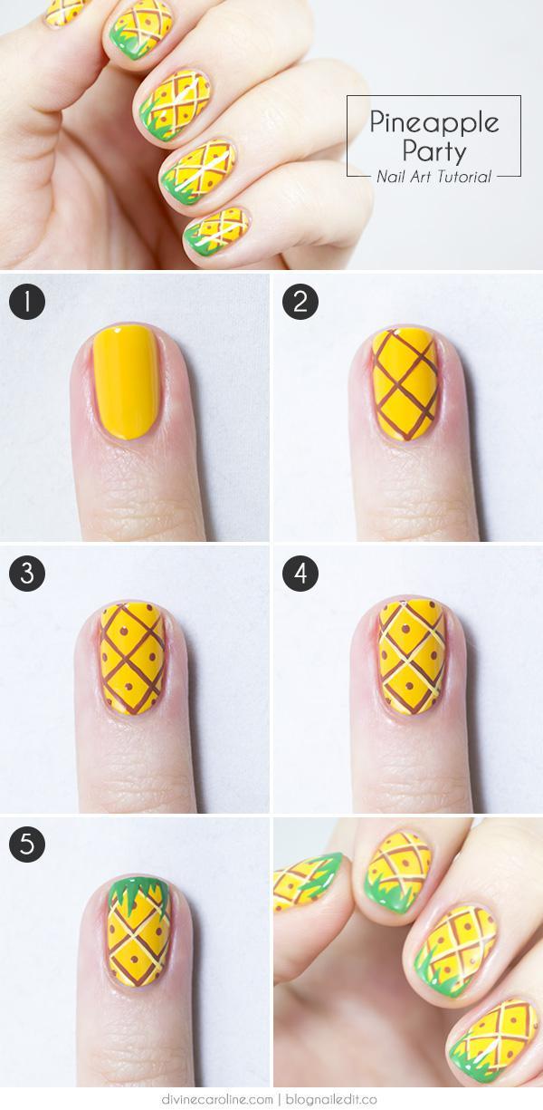 image11-12 | 25 простых узоров на ногтях для начинающих