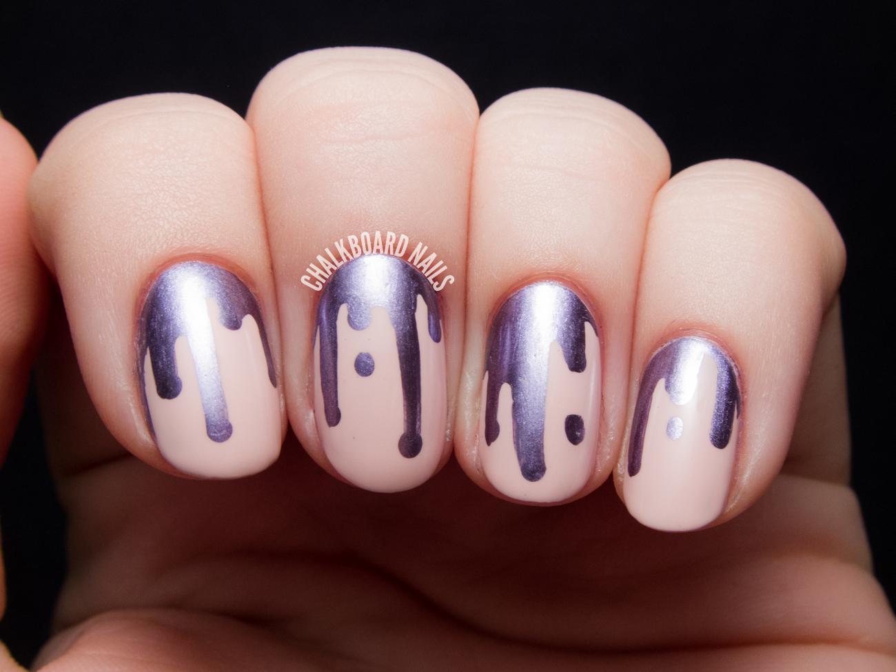 image13-12 | 25 простых узоров на ногтях для начинающих