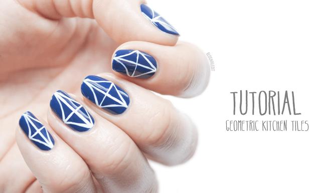 image21 | 25 простых узоров на ногтях для начинающих