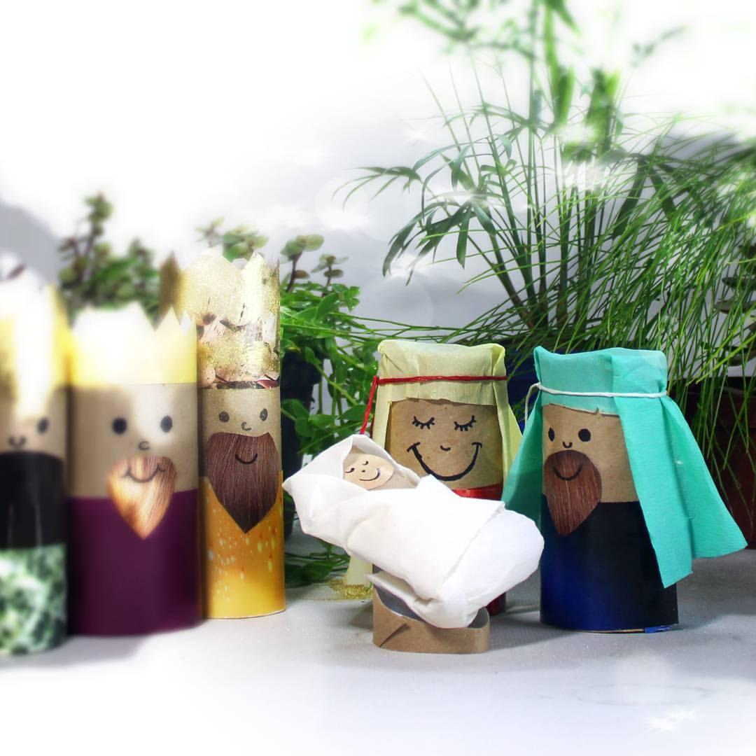 image7-5   Рождественские и Новогодние украшения из втросырья своими руками