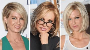 37 идей стрижки боб для женщин старше 40 лет