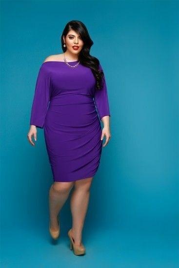 image1-24 | 39 стильных и элегантных платьев для полных женщин
