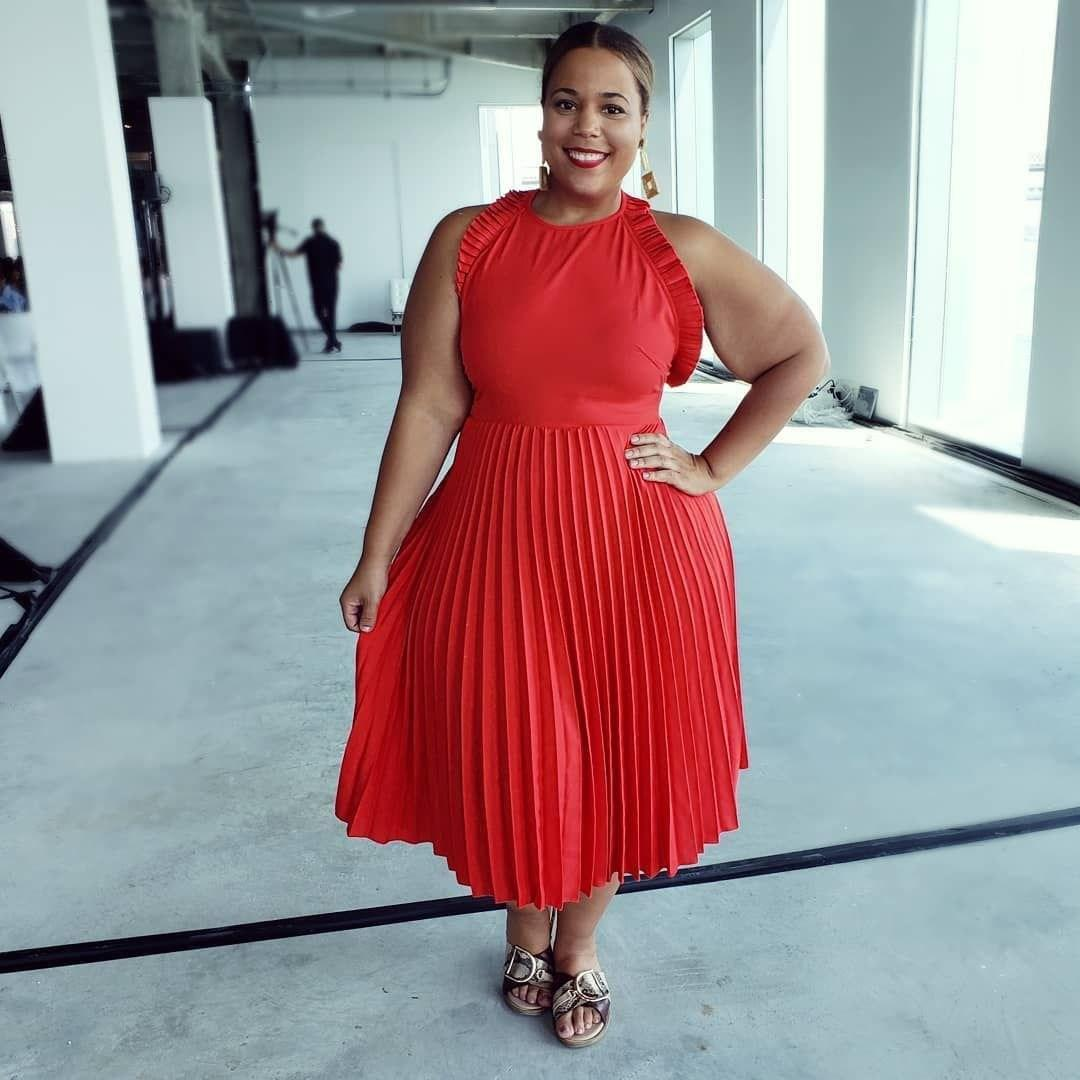 image10-22 | 39 стильных и элегантных платьев для полных женщин