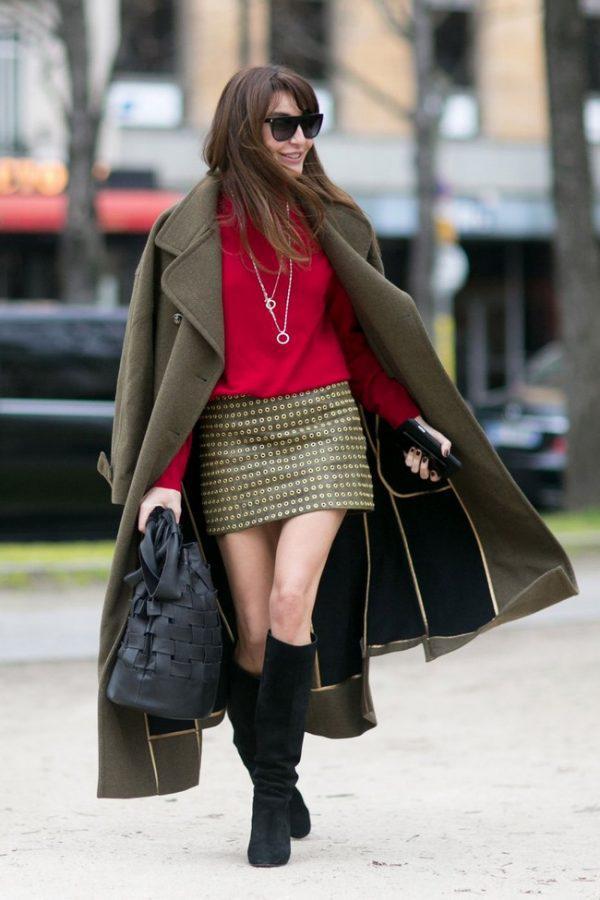 image13-2 | Как носить юбки зимой