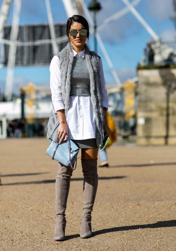 image17 | Как носить юбки зимой