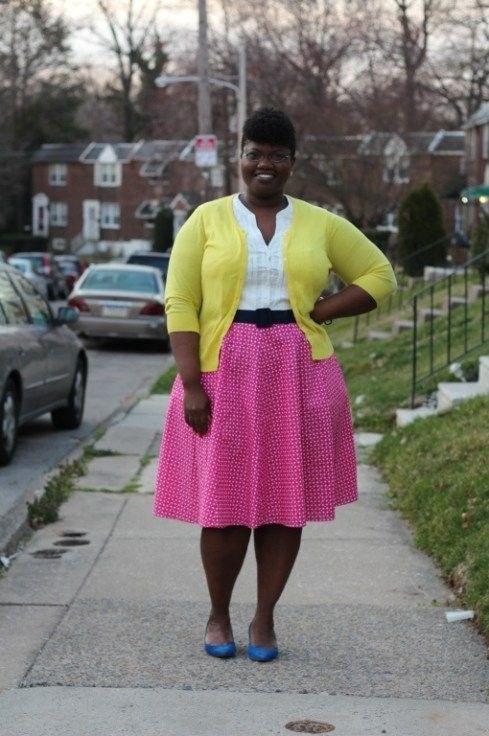 image24-8 | 39 стильных и элегантных платьев для полных женщин