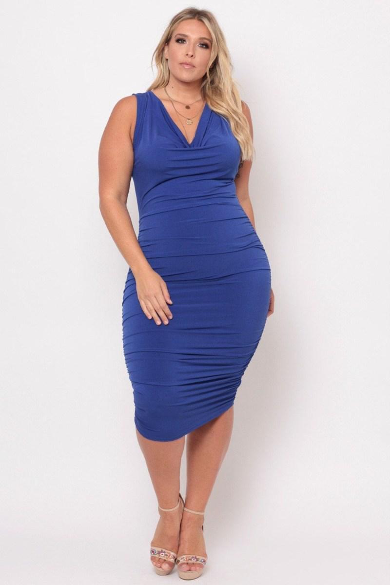 image29-5 | 39 стильных и элегантных платьев для полных женщин