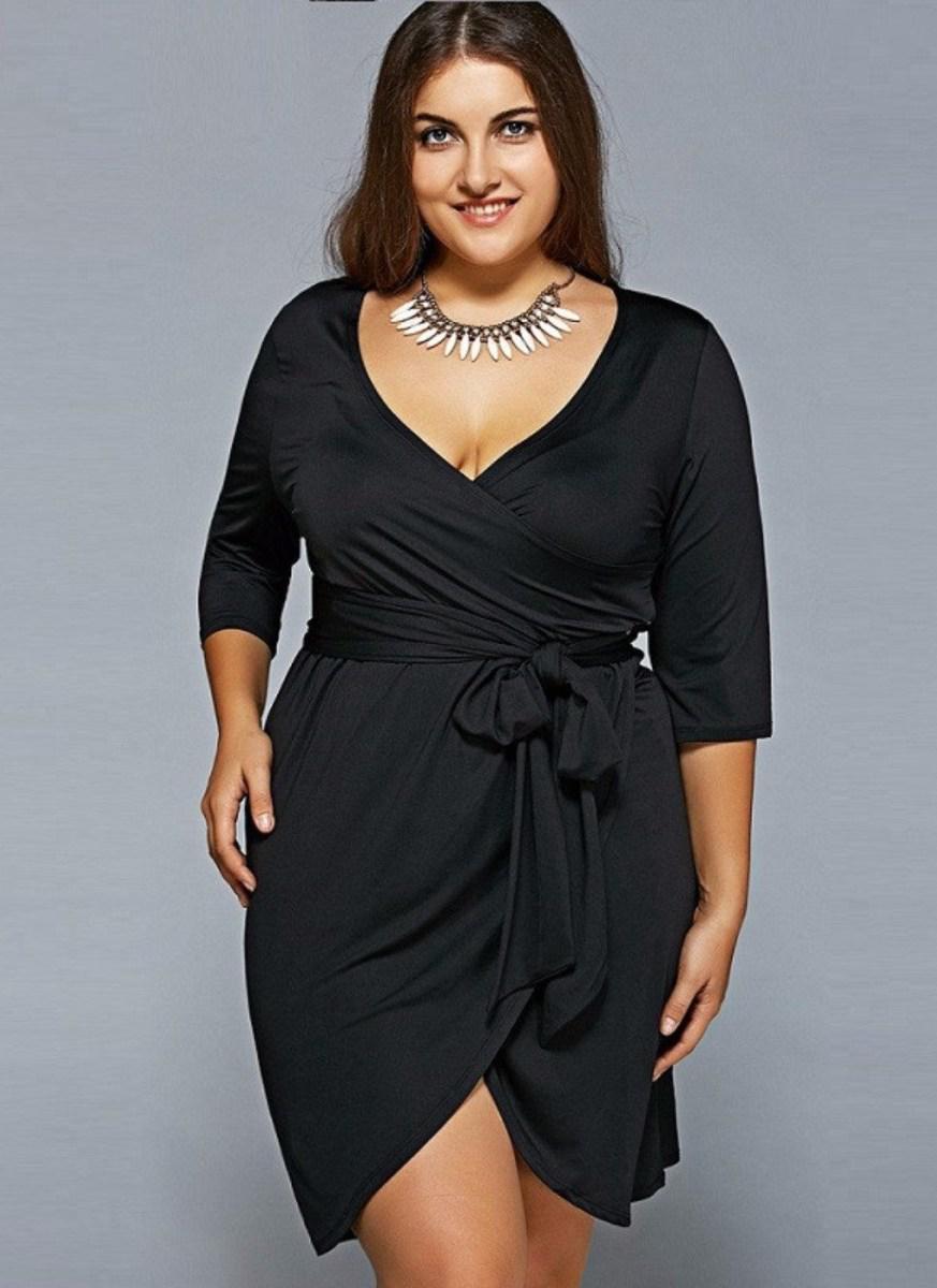 image39 | 39 стильных и элегантных платьев для полных женщин