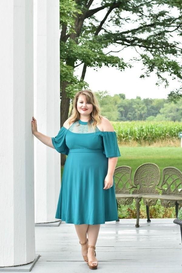 image7-22 | 39 стильных и элегантных платьев для полных женщин