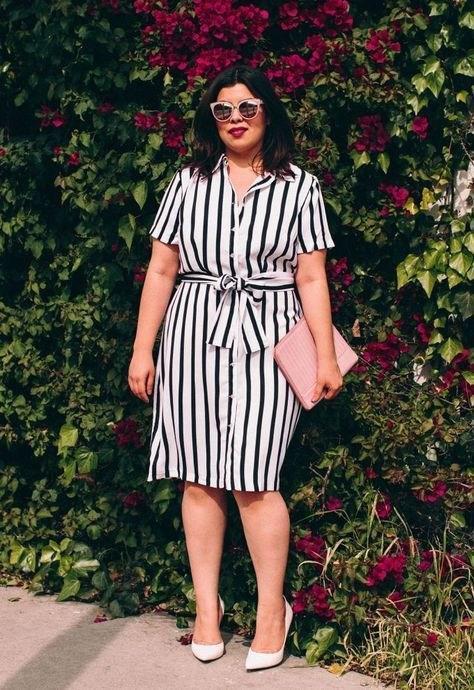 image9-22 | 39 стильных и элегантных платьев для полных женщин