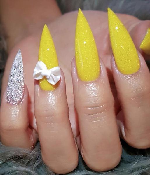 image11-4 | Лучшие идеи маникюра на острые ногти, которые вы должны попробовать
