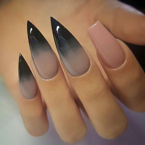 image12-4 | Лучшие идеи маникюра на острые ногти, которые вы должны попробовать