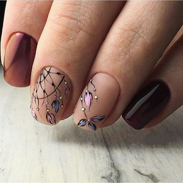image19-7 | 45 идей дизайна ногтей для маникюра на весну 2019