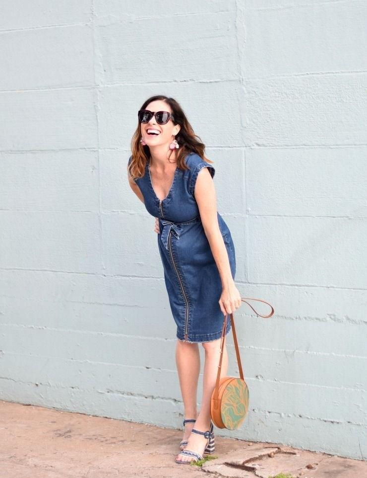 image26-9 | Как носить джинсы этой весной — 39 образов с фото