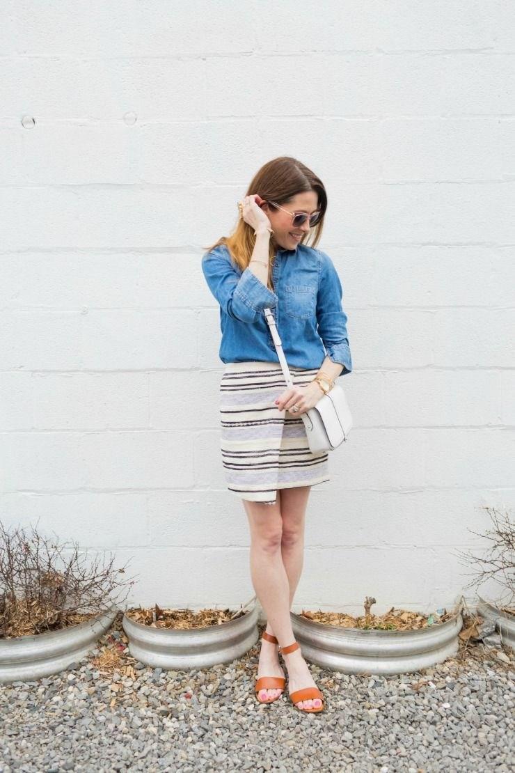 image34-6 | Как носить джинсы этой весной — 39 образов с фото