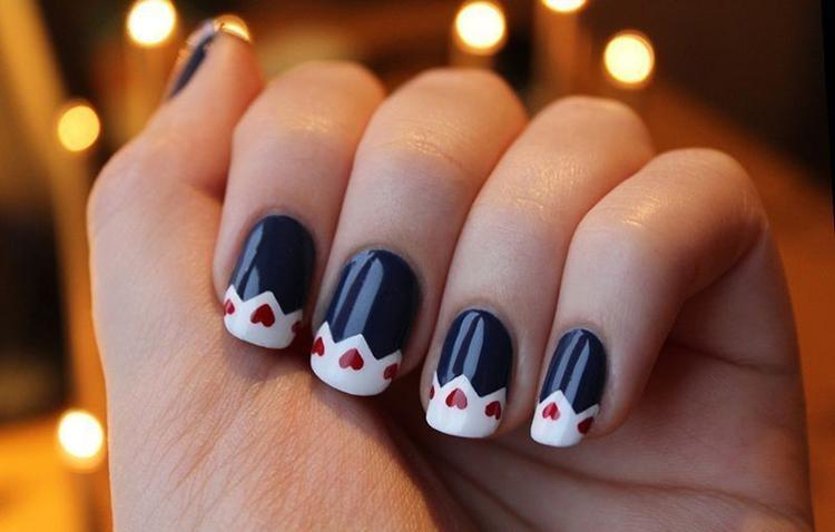 image34-7 | Самые романтичные идеи маникюра для Дня Святого Валентина