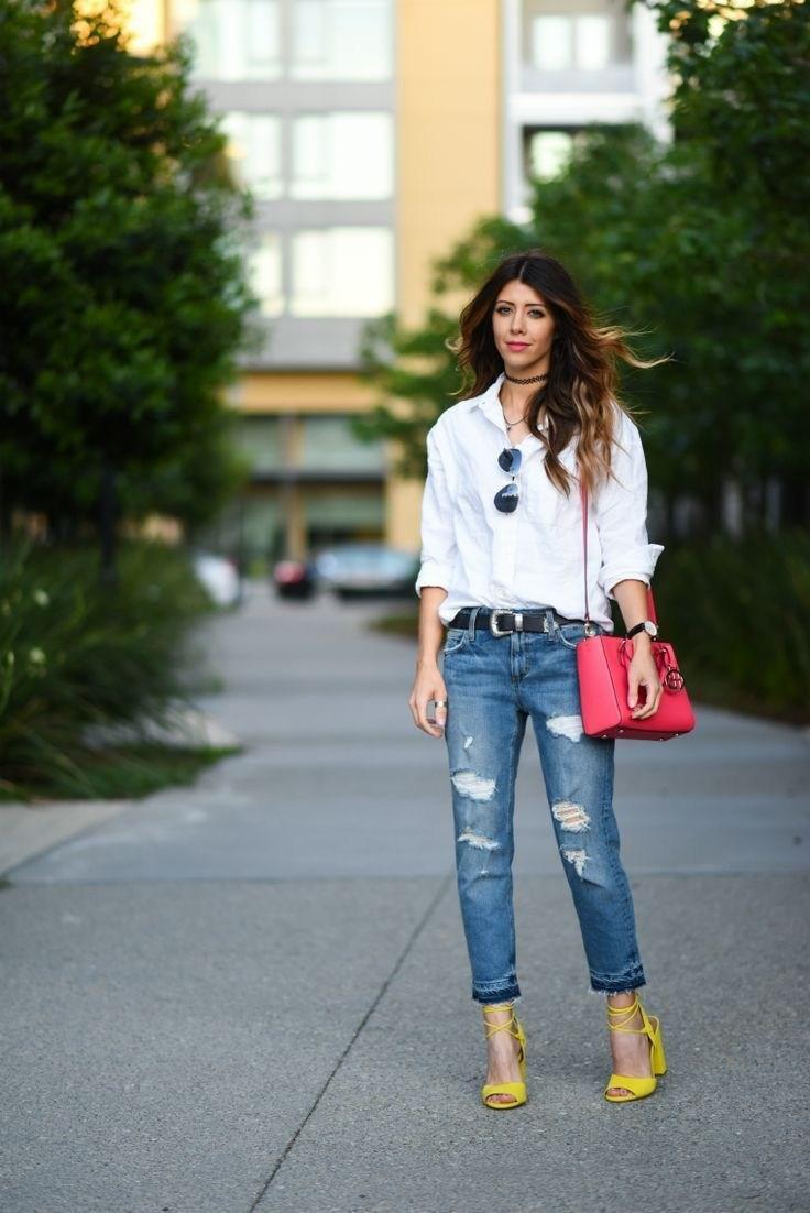 image8-12 | Как носить джинсы этой весной — 39 образов с фото