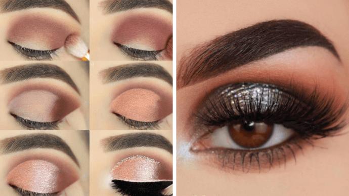 схема макияжа