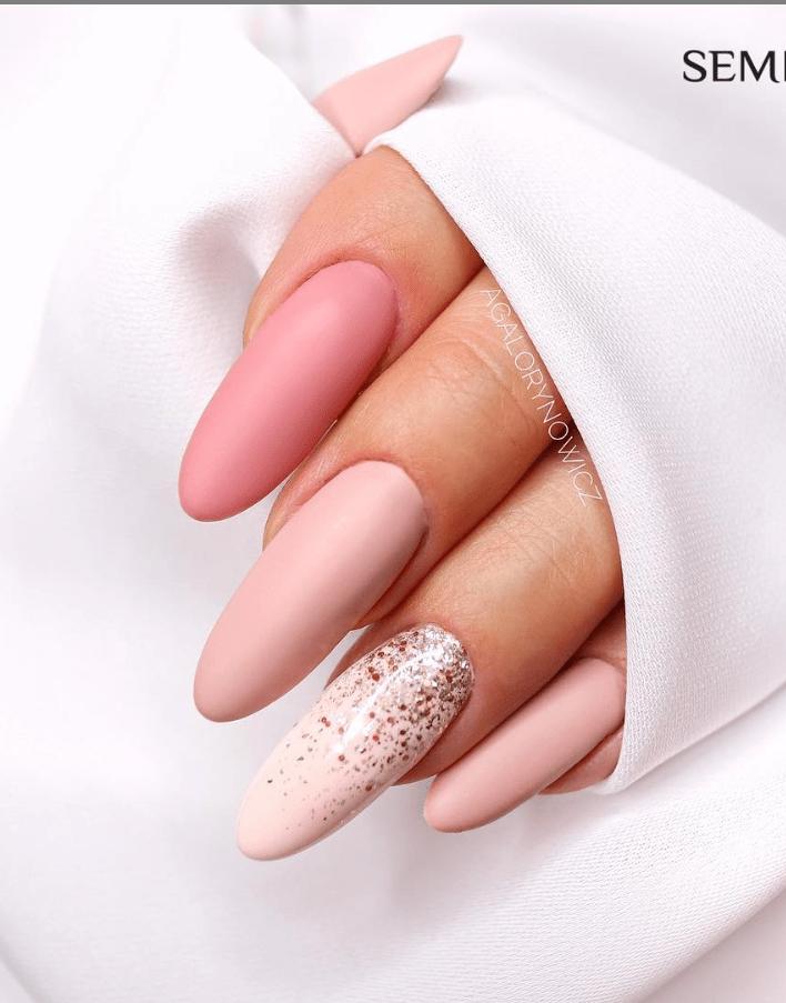 image22-2 | Модные идеи дизайна на овальные ногти