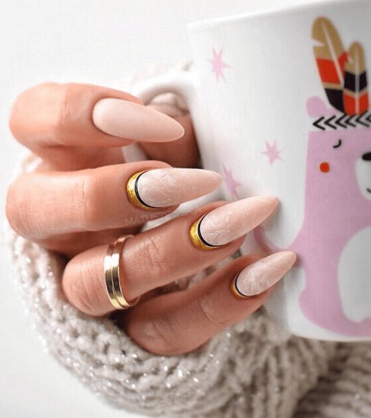 image30-2 | Модные идеи дизайна на овальные ногти
