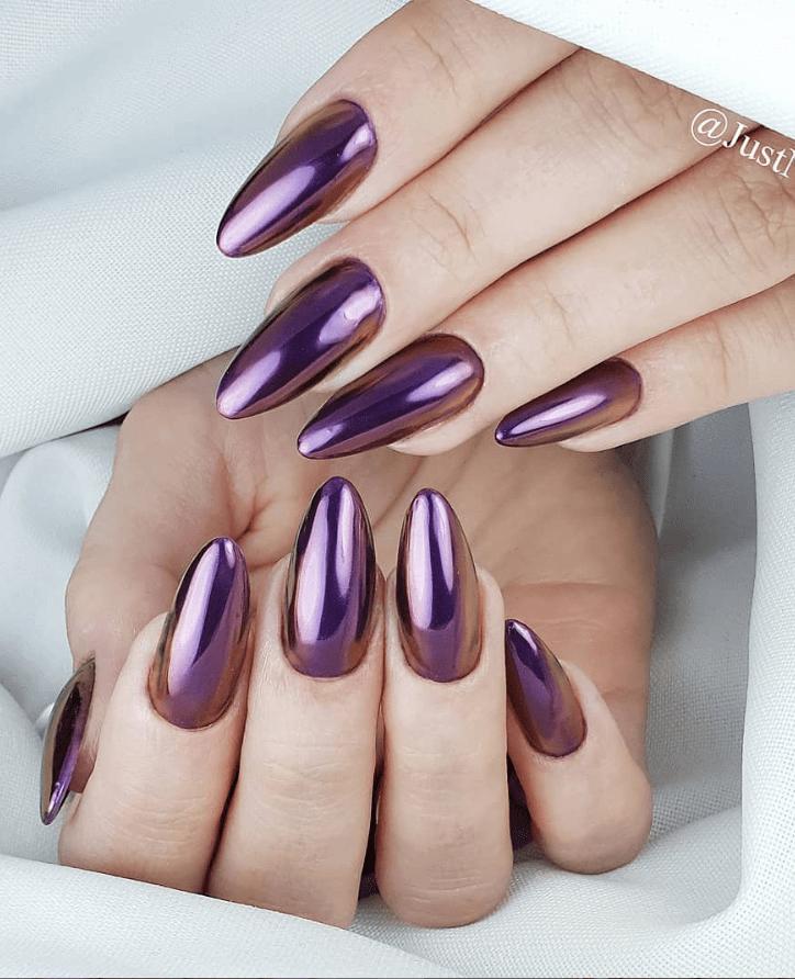 image34-2 | Модные идеи дизайна на овальные ногти