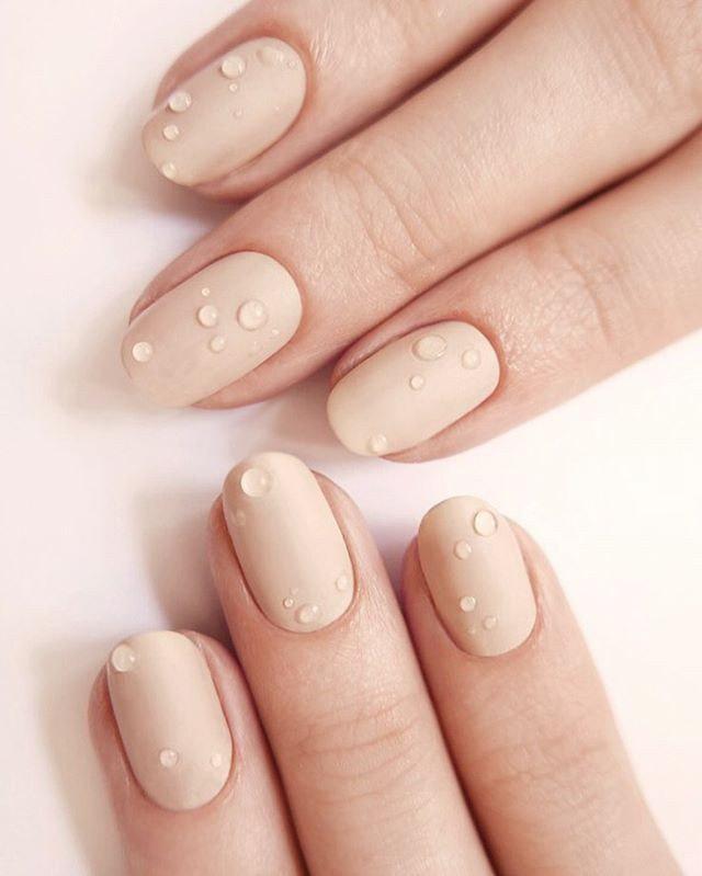 image49   50 лучших идей весеннего маникюра на короткие ногти