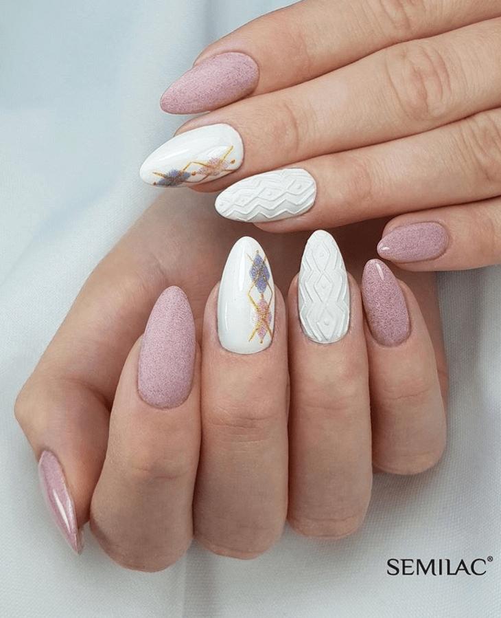 image6-2 | Модные идеи дизайна на овальные ногти