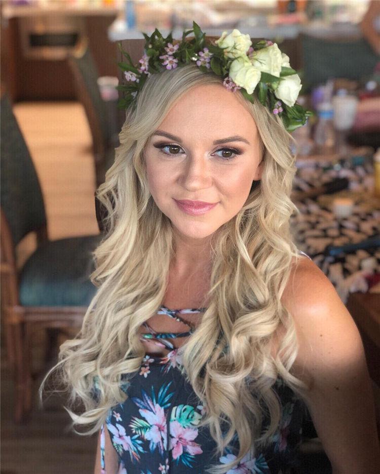 image46-2   70+ свадебных причесок 2019