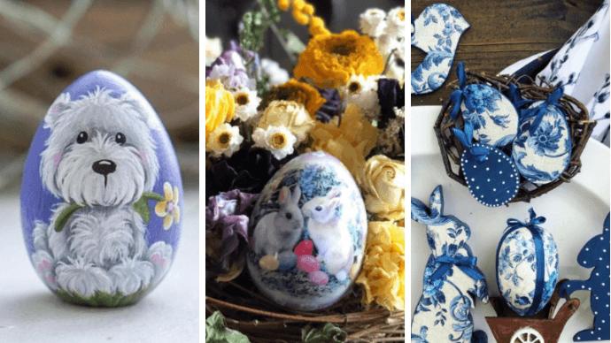 как раскрасить яйца на пасху идеи и примеры