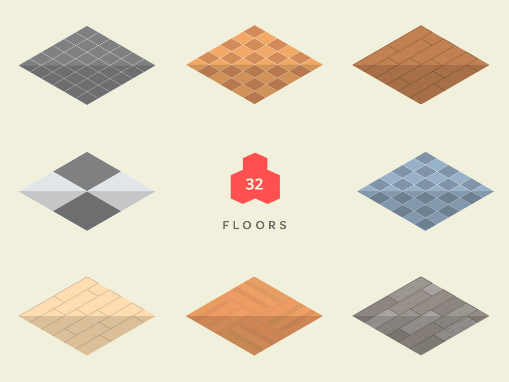 Isometric Floors