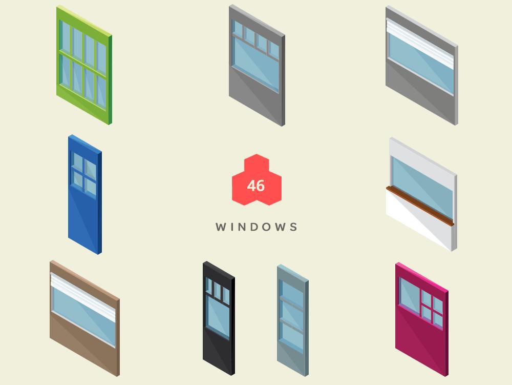 isometric windows