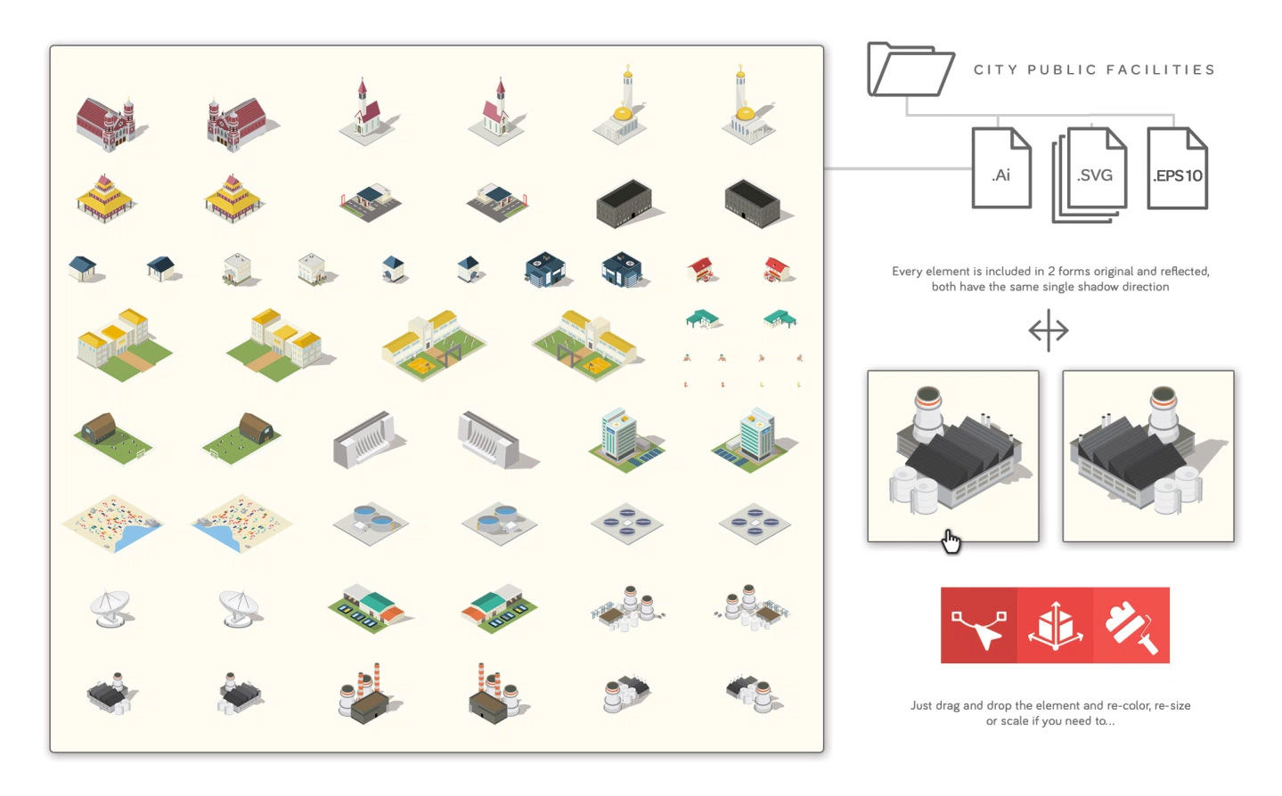 build isometric maps