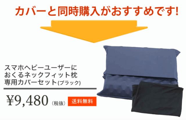 ネックフィット枕セット購入