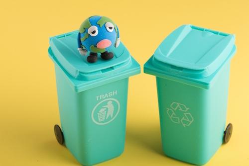ガンプラをゴミとして捨てる