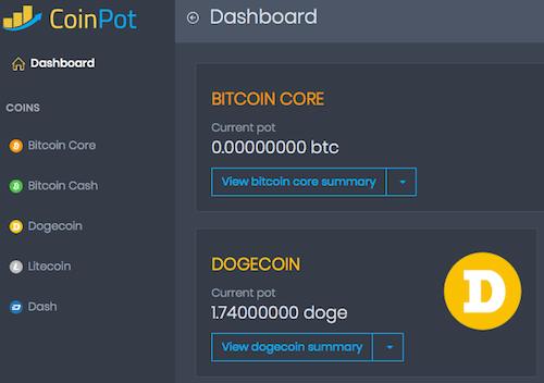 1.74DOGEコイン獲得
