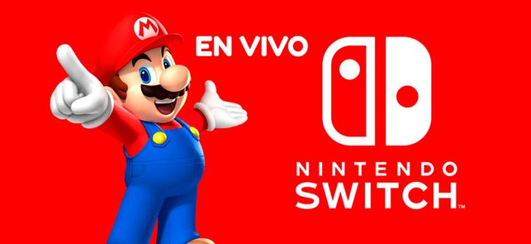 Nintendo Switch en vivo