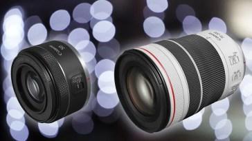 Canon presenta 4 impresionantes lentes mirrorless