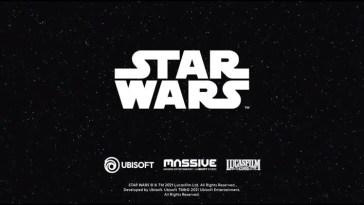 Ubisoft anuncia su colaboración con Lucasfilm Games en un juego nuevo de Star Wars