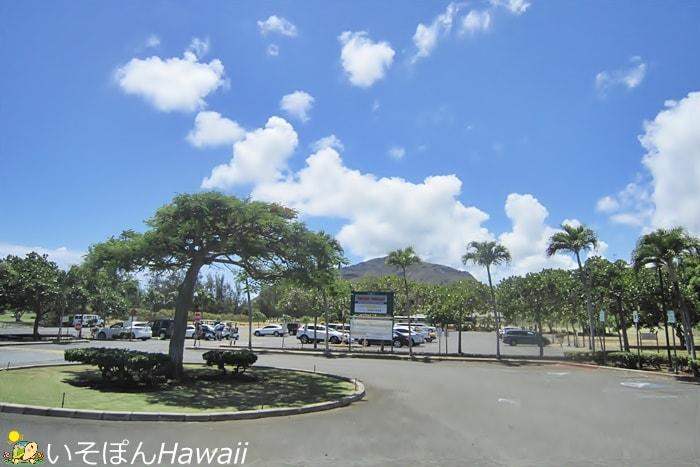 ハワイカイ・ゴルフコースの景色